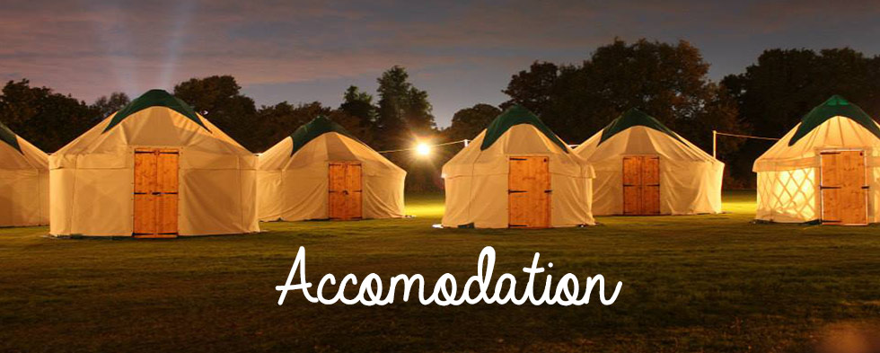 Green Yurts hire in the uk for events and festivals