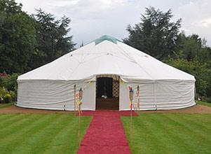V Festival - Yurt Hire UK