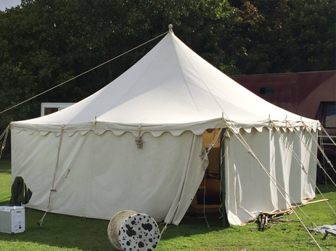 Marquees for hire as well as yurts and bell tents