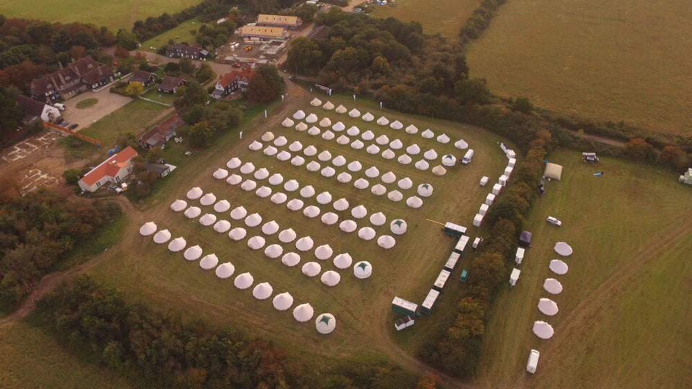 Bell Tent Hire - Osea Island