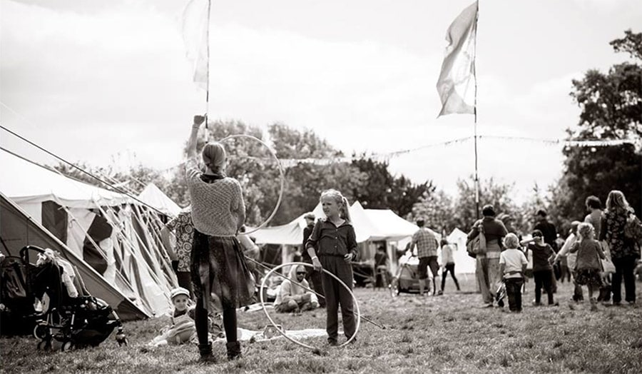 Wood Festival - Hula Hoop