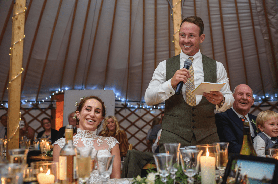 Festival Wedding - Speech