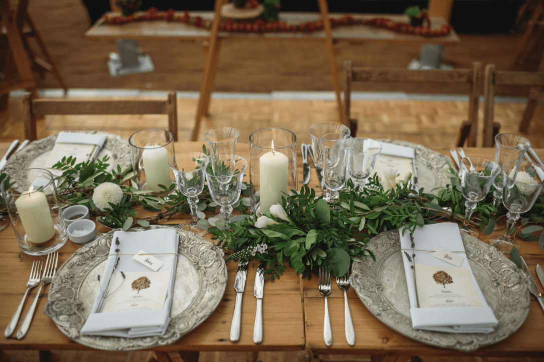 Festival Wedding - Place Settings