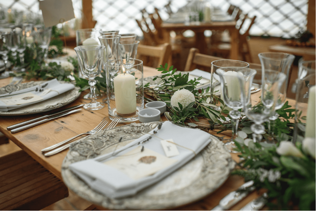 Festival Wedding - Place Setting