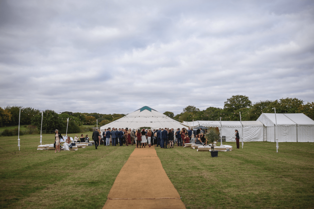 Festival Wedding - 42ft Yurt Exterior