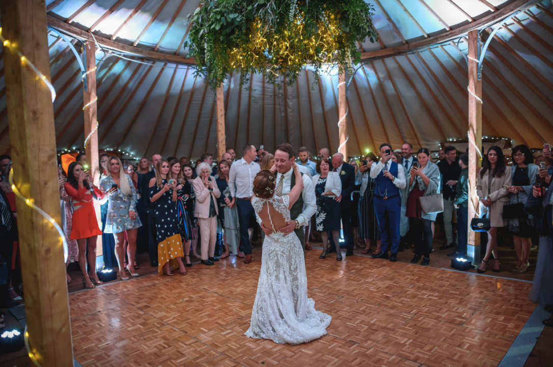 Festival Wedding - First Dance