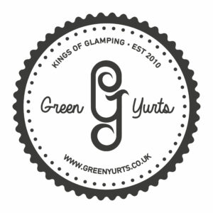 The Green Yurts stamp.